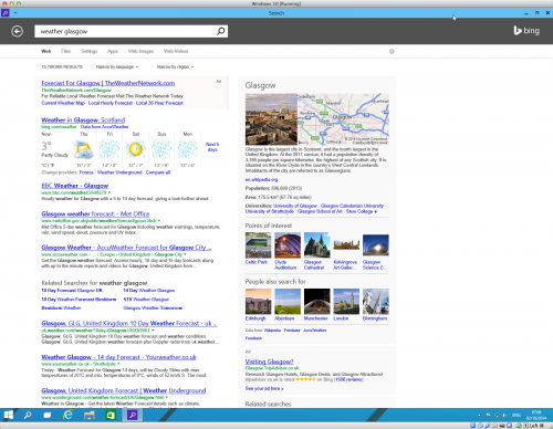 Search in Windows 10