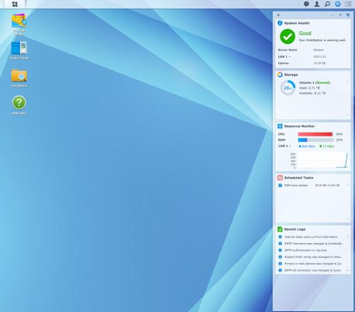 dsm desktop